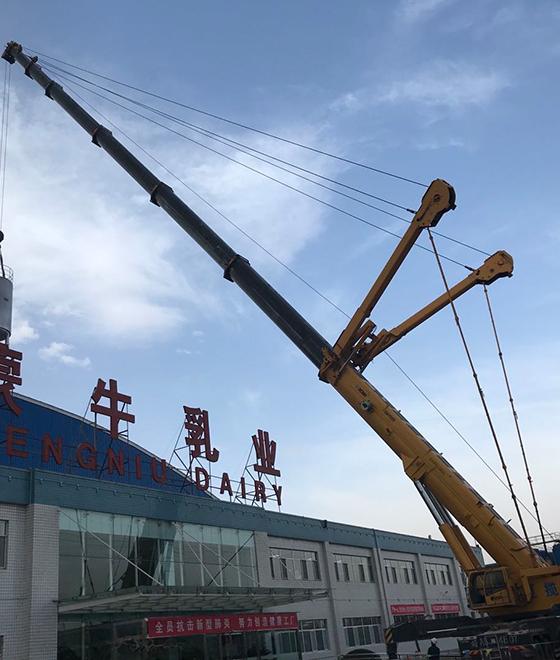 太阳山220t吊车租赁
